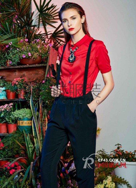 春季红色服装怎么搭配