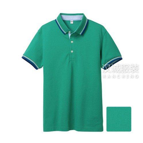 绿色纯棉T恤衫